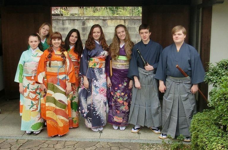 Long Sleeve Kimono Dress